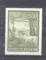 EL CIERVO AÑO 1965 A 1968 500 PESOS PAPEL SATINADO NACIONAL  CERF DEER MNH TBE REPUBLICA ARGENTINA - Argentina