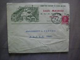 BLOIS LOUIS MAURICE COMPTOIR GENERAL DE VIEUX METAUX 36 RUE DU PONT CHORNAINS ENVELOPPE 15-5 42 - France