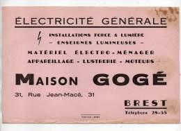 Buvard - Electricité Générale, Maison Gogé, Brest - Electricité & Gaz