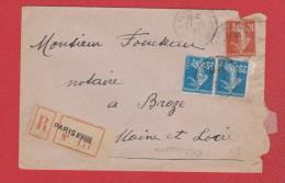 Env Rec De Paris  ---   Pour Brézé --  27-6-1921 - 1921-1960: Modern Tijdperk