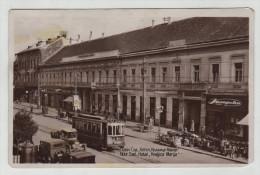 Serbia Serbije Novi Sad Ujvidek Hotel Tram Bahn Shop Old Car Post Card Postkarte Karte Carte Postale POSTCARD - Serbia