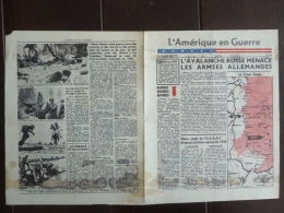 WWII WW2 Propaganda Tract L'Amérique En Guerre No 84 USF 82 Le 12 Janvier 1944 - Oude Documenten