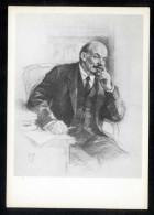 USSR 1968 Propaganda, Lenin, Portrait, Art, Painting, Painter P.Vasylev ** - 1923-1991 URSS