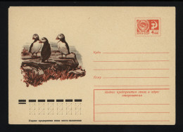 USSR 1976 Postal Cover Bird Puffin (090) - Other