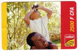 GABON RECHARGE GSM CELTEL 2 500 F CFA - Gabon