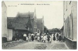 59 - HAVERSKERQUE - (4.) - Route De Merville - CPA - Ohne Zuordnung