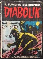 DIABOLIK Anno II N.6 Ristampa 1-1-65 Sodip - Diabolik