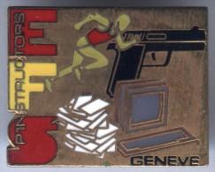 Pin´s  Police Genève Suisse EFS Pin'structor - Polizia