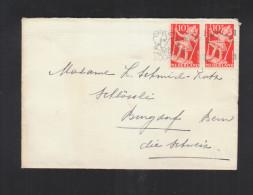 Niederlande Brief Vor Het Kind Paar In Die Schweiz - 1891-1948 (Wilhelmine)
