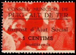 GERONA - ELR - EDI ** 1127 PUIG-ALT DE TER - 1931-50 Nuevos & Fijasellos