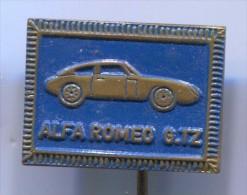 ALFA ROMEO GTZ - Car Auto Automobile, Vintage Pin, Badge - Alfa Romeo