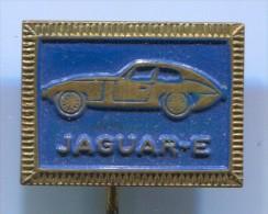 JAGUAR E - Car Auto Automobile, Vintage Pin, Badge - Jaguar