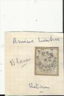 1 Timbre _Tampon Convoyeur -Amiens---Lumbres_Type Blanc 1 Ct (1)_Retour - Marcofilia (Sellos Separados)