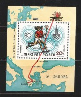 HUNGRIA HOJITA DEPORTE ATLETISMO ANTORCHA OLIMPICA - Verano 1980: Moscu