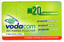 LESOTHO Prépayée VODACOM M20 Année 2006