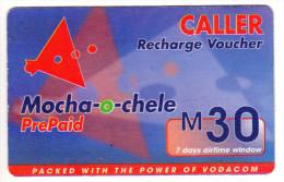 LESOTHO Prépayée VODACOM M30 Année 2003 - Lesoto