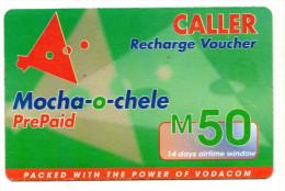 LESOTHO Prépayée VODACOM M50 Année 2003