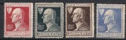 Italie 196/199 * - 1900-44 Victor Emmanuel III.
