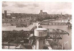 Yonne - 89 - Auxerre Vue Générale Chateau D'eau Au 1ere Plan 1955 - Auxerre