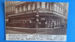 BRUXELLES NORD Café Restaurant CECIL - Cafés, Hôtels, Restaurants