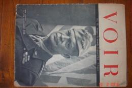 """Revue """"Voir"""".1944-1945.n°15.Images Du Monde D'aujourd'hui.26x35 Cms. - Guerre 1939-45"""