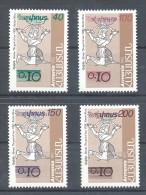 Armenia - 1996 Postage Stamps Overprints MNH__(TH-6978) - Armenia