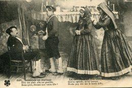 FRANCE - Types Des PYRENEES - Demande En Mariage   - VG Ehnic - Europe