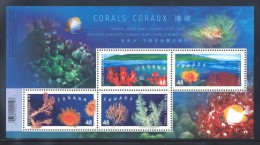 Canada - 2002 Corals MNH__(THB-1715) - 1952-.... Reinado De Elizabeth II