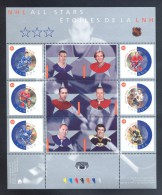 Canada - 2002 NHL Block MNH__(THB-5267) - Blocs-feuillets