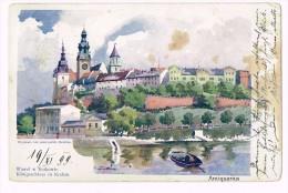 Krakow - Königsschloss In Krakau - 1899 - Pologne