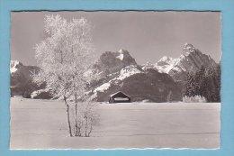 Kt Bern, SAANENMÖSER, CHALET, Im Winter, Gumfluh, Rüblihorn // Gelaufen - BE Berne