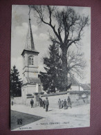 CPA 21 TARSUL L'Eglise Et Ses Abords ANIMEE 1914  Canton IS SUR TILLE - France