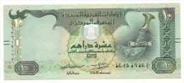 Emirati Arabi - 10 Dirham 2015, - Emirati Arabi Uniti
