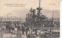 Thématiques 83 Var Toulon La Catastrophe Du Iéna 12 Mars 1907 La Vanne Du Bassin De Missiéssy Cp Fragile - Toulon