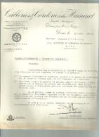 DOUR  CABLERIES & CORDERIES Du HAINAUT  18.04.1952 - Electricity & Gas