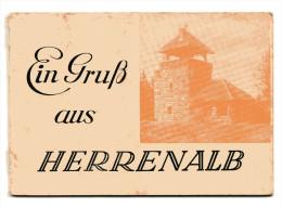 Livret Reproduction De 10 Photos Sur HERRENALB (Année 1944). - Allemagne (général)