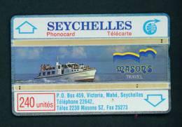 SEYCHELLES - Optical Phonecard As Scan