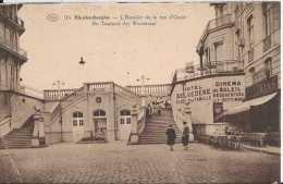 Blankenberghe - 116 - L'Escalier De La Rue D'Ouest - De Trappen Der Weststraat - Pas Circulé - Animée - Sépia - TBE - Blankenberge
