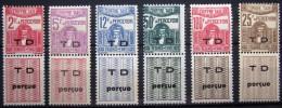 TUNISIE                     TAXE 54/58 + 56A                      NEUF* - Tunisia (1888-1955)