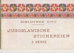 Jugoslawien  Stickerein D:M:C:      2. Serie - Point De Croix