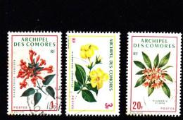 1971 - COMORES - KOMOREN - OBLIT/GEST/FINE USED - BLUMEN - FLOWERS - Mi 124/6 - Gebraucht