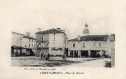 79 DEUX SEVRES - SAUZE VAUSSAIS Place Du Marché (voir Descriptif) - Sauze Vaussais