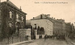 BELGIQUE - Namur, COUVIN L´école Normale Et L´école Moyenne - Couvin