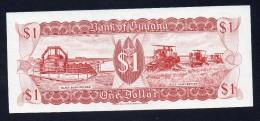 GUYANA 1 Dollar - FDS - 1966 - Guyana