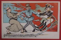 LES RENGAINES POLITIQUES - Illustré Par Raoul THOMEN - III. Les Congrégations - Satiriques