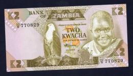 ZAMBIA 1980-88 - FDS - 2 KWACHA - Zambia