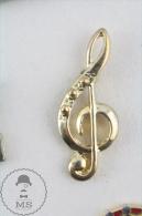 Golden Colour G Cleaf  Pin Badge  #PLS - Música