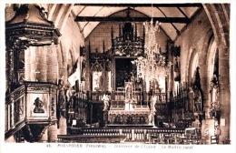 #  Porspoder - Interieur De L'Eglise - Le Maitre Autel - France