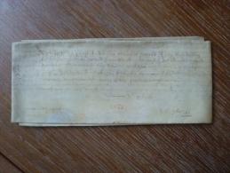 VELIN DATE DE 1655 - Manuscripts
