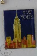 New York City Pin Badges  #PLS - Ciudades